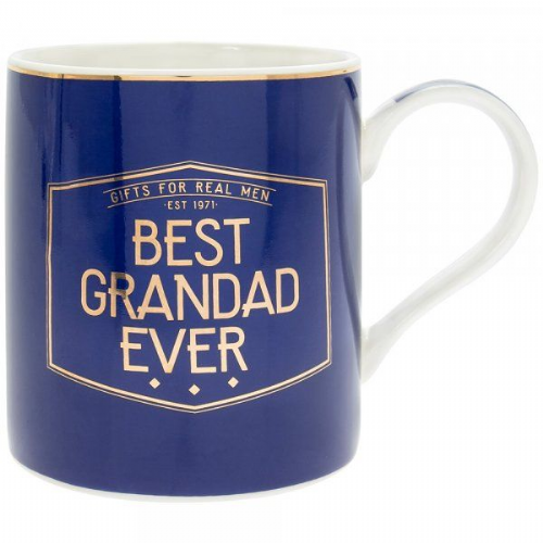 Gents Society Best Grandad Mug